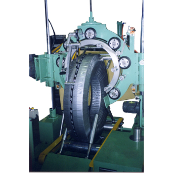 Bus Tire Wrapping Machine